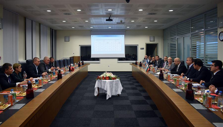 Türk-Bulgar Gümrük İdareleri Toplantısı Kapıkule'de Yapıldı