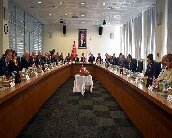 Türk-Bulgar Gümrük İdareleri Üst Düzey Toplantısı Kapıkule'de Yapıldı