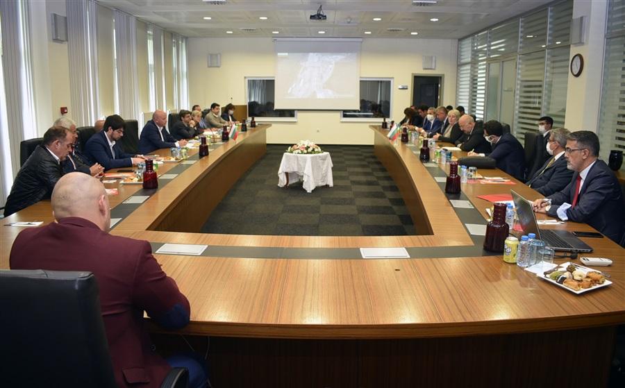 Türkiye-Bulgaristan Gümrük İdareleri Üst Düzey Toplantısı Kapıkule'de Yapıldı