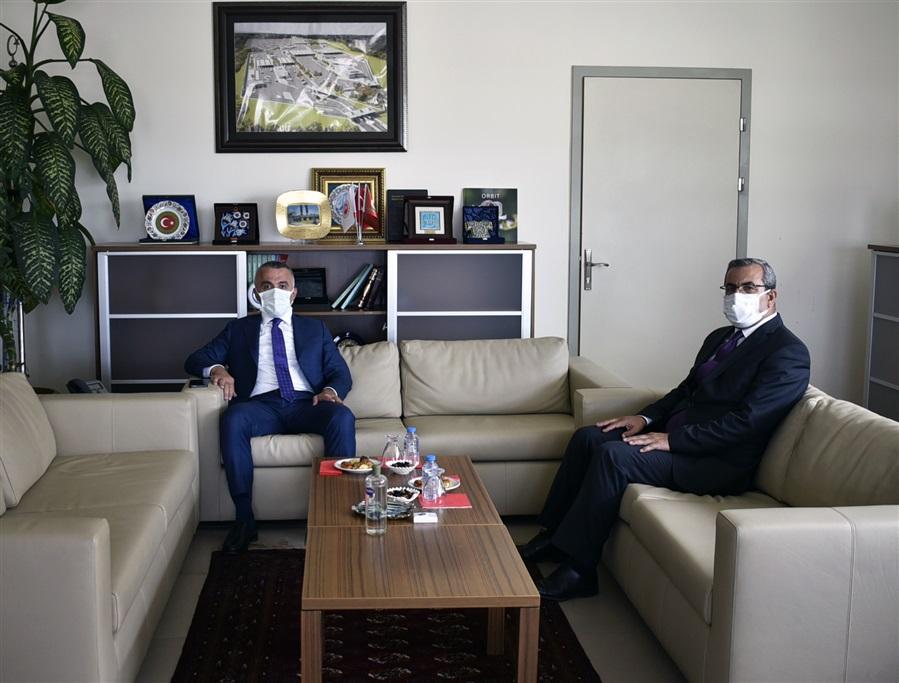 Kırklareli Valisi Sayın Osman BİLGİN'den Bölge Müdürlüğümüze Nezaket Ziyareti